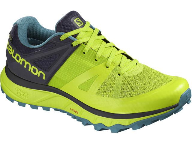 Salomon Trailster GTX - Zapatillas running Hombre - amarillo/gris